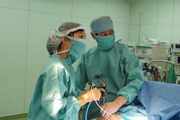 手術室での様子②